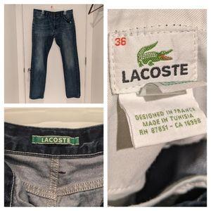Lacoste Men's Jeans - Sz 36
